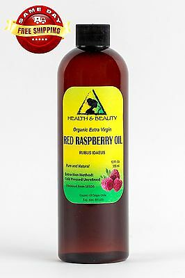 Red Raspberry Seed Oil Unrefined Organic Extra Virgin Cold Pressed Pure 36 Oz