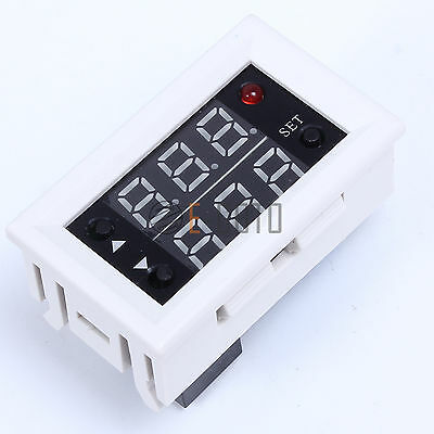 Relay Module Double LED Digital Display Timing Delay Cycle Function 12V 20A