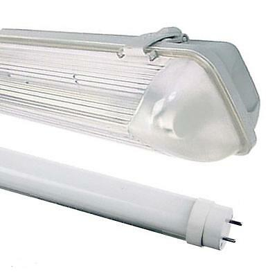 5Ft Single Led Non Corrosive Light Fitting Weatherproof Ip65 Garage Strip Light