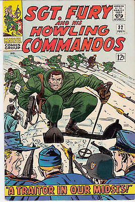 SGT. FURY & His Howling Commandos #32 (July 1966)