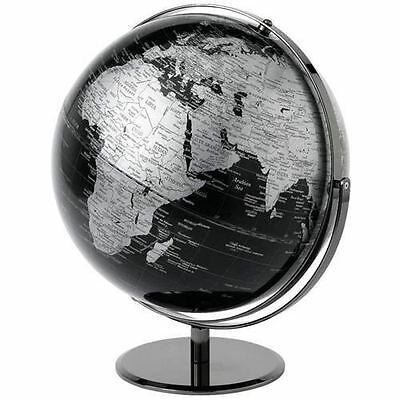 The Globe Collection - Black World Map Globe - 43cm - A25985 - New
