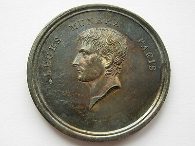 France Napoleon 1802 Constitution of the Cisalpine Republic medal in silver