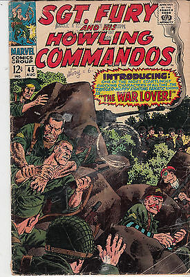 SGT. FURY & His Howling Commandos #45  (August 1967)