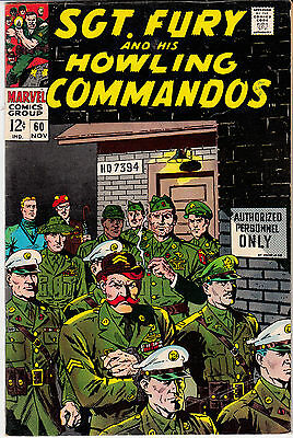 SGT. FURY & His Howling Commandos #60-69 (lot of 10)