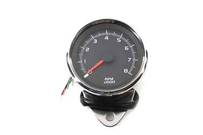 Electronic 80mm Tachometer, EA,for Harley Davidson motorcycles,by V-Twin