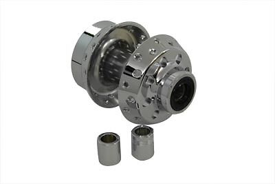 Chrome Front Wheel Hub for Harley Davidson motorcycles, EACH, by V-Twin