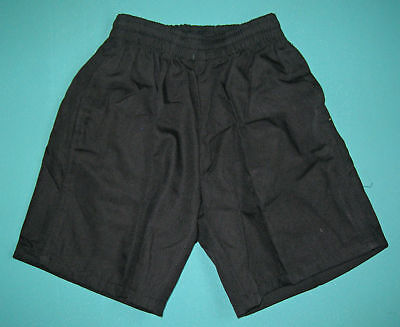 NEW School Uniform Shorts Black size 5 to 16