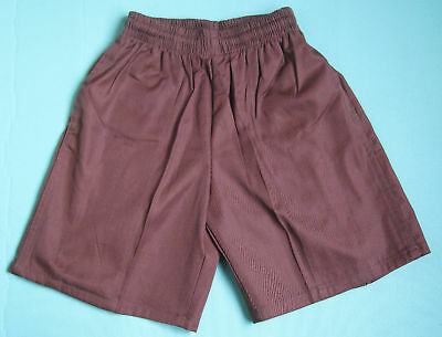 NEW School Uniform Shorts Brown size 5 to 16