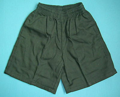 NEW School Uniform Shorts Green size 5 to 16