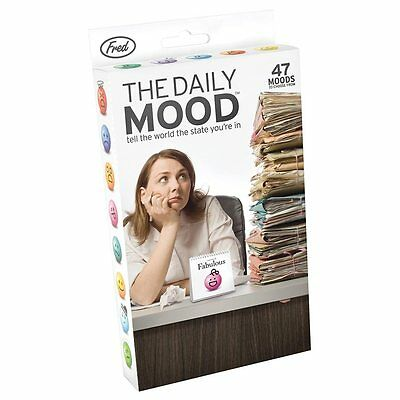 The Daily Mood Desktop Flip Book Office Table Flipchart With 47 Moods