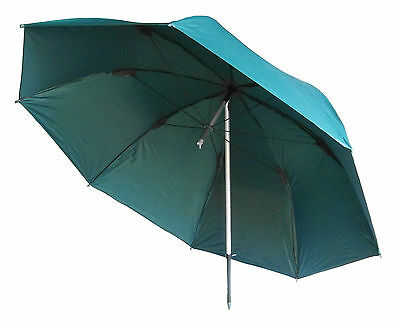 "MDI Deluxe 45"" Green 100% Waterproof Coarse, Match Fishing Umbrella with Case"