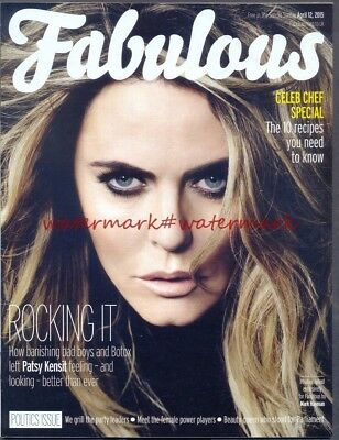 PATSY KENSIT - Cover & Photo Feature in FABULOUS Magazine, April 2015