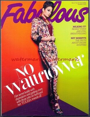 TULISA - Cover & Photo Feature in FABULOUS Magazine, Nov 2012. Free Postage