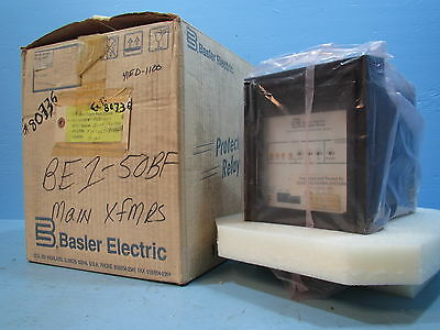NEW Basler Electric BE1-50BF Breaker Failure F3F-E1J-BSB4F Relay BE150 BF NIB