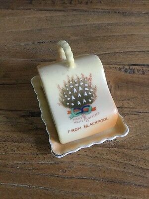 Gemma Crested Ware Cheese Dish From Blackpool