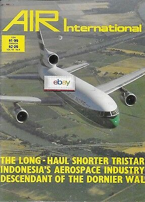 Air International 4/1980 Magazine Cathay Pacific L-1011 Cover Dorniers Do-18
