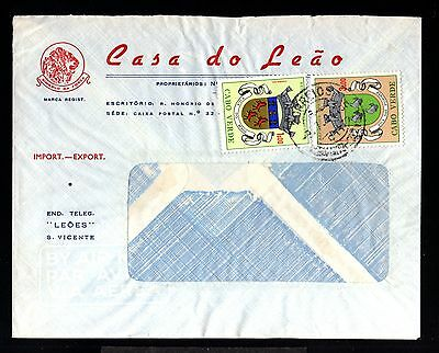12640-CABO VERDE-AIRMAIL COVER SAN VICENTE.1964.Portugal colonies