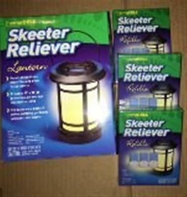 ThermaCell Skeeter Reliever Lantern (SR-L) + 3 Refills (SR-1), New
