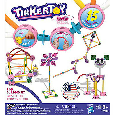 TINKERTOY Pink Building Set Sale