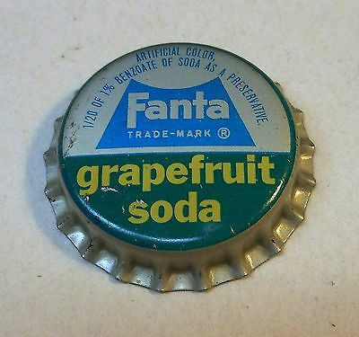 "Vintage Fanta ""Grapefruit""..cork..unused..Soda Bottle Cap"