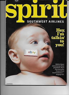 Southwest Airlines Spirit Magazine 3/2011 Babies Have More To Say-Improve Brain
