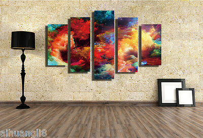 """Huge Modern Abstract Home Wall Decor Art Printed Painting on Canvas""""no frame""""016"""