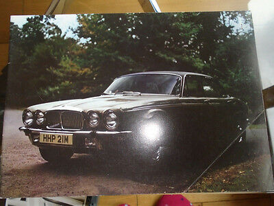 Daimler Double Six Vanden Plas Series 2 range brochure Jun 1974