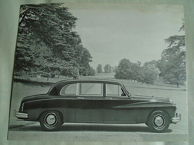 Daimler Limousine Press Photo brochure c1965 No 2