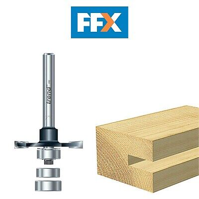 Trend TRETR3512TC TR35 X 1/2 TCT Biscuit Jointer Set 4.0mm