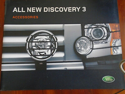 Land Rover Discovery 3 Accessories brochure 2004 ref LRML 2048/04