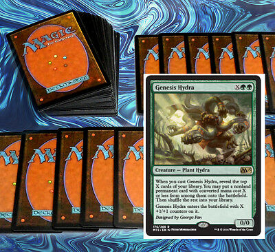 mtg GREEN RAMP DECK Magic the Gathering rare cards hydra