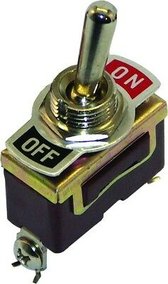Invincible BR51330 Toggle Switch Brass On/Off