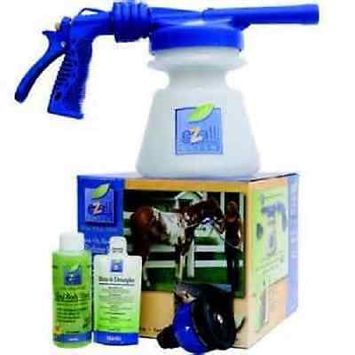 Ezall Green Foam Shampoo Bathing Kit Horse Cow Dog Sheep Pony Goat Pigs BLUE
