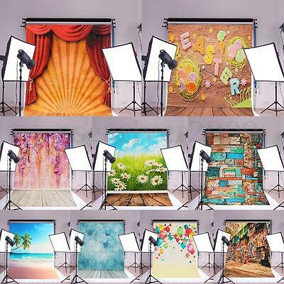 Art Silk Poster Photography Backdrop Wall Decor Photo Background Prop 900x600MM