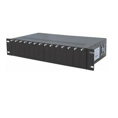 INTELLINET Box d espansione 14 Slot Media Converter Chassis [B0555670]