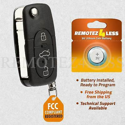 for 1998 1999 2000 2001 VW Volkswagen Beetle Golf Keyless Remote Car Key Fob