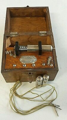 Antique Vintage Medical Device Quackery P.G,Williams Electric Quack Shock Box NY