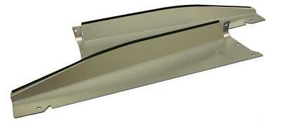 70-72 Monte Carlo Radiator Show Filler Panel Clear Anodized no Engraving