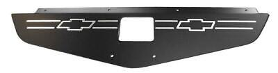 70-72 Chevelle Radiator Show Filler Panel Polished Bowtie 702CH-03P