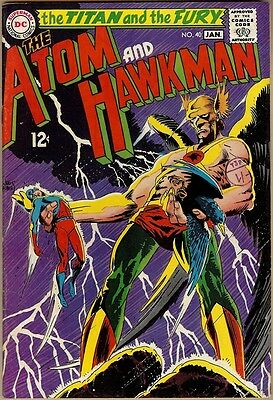 Atom And Hawkman #40 - FN/VF