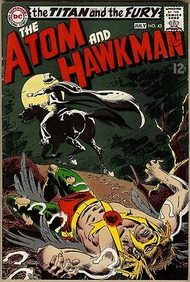 Atom And Hawkman #43 - FN-