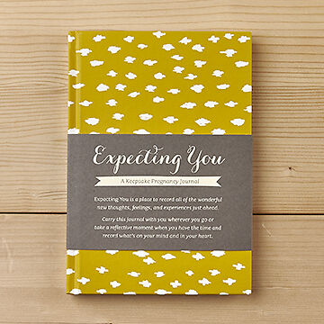 'Expecting You' by Amelia Riedler- Keepsake Baby Pregnancy Journal Book