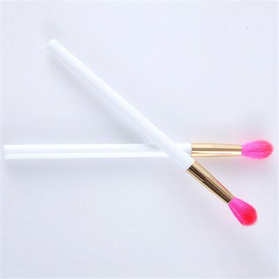 Eyeshadow Blending Single Eye Socket Wool Brush Plastic Handle Makeup Tool