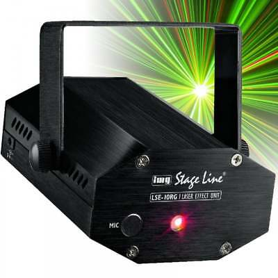IMG Stage Line LSE-10RG Class 2M Cluster Laser 30mW Red 30mW Green