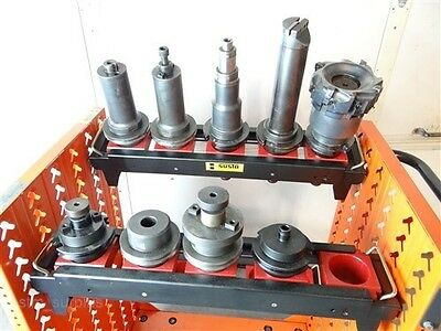 9 Urma Swiss Command Cat 50 Shank Tool Holders & Tools, Facemill & Others
