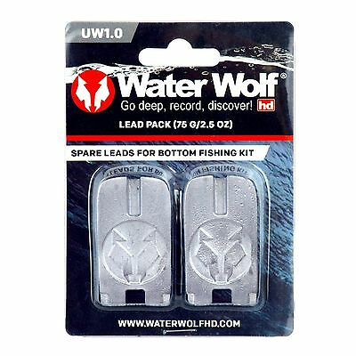 Water Wolf Spare Lead Weights For Bottom Fishing Kit - Waterwolf Fishing Camera