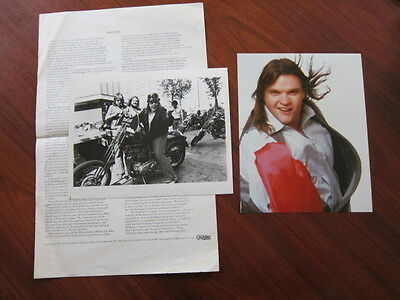 MEAT LOAF 2 photos and a biography