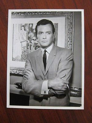 DAVID JANSSEN  Richard Diamond Private Detective  8x10 photo