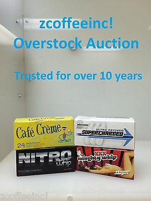 240 Whip Cream Chargers Nitrous Oxide N2O Whipped OverS 10bxs of 24pk over