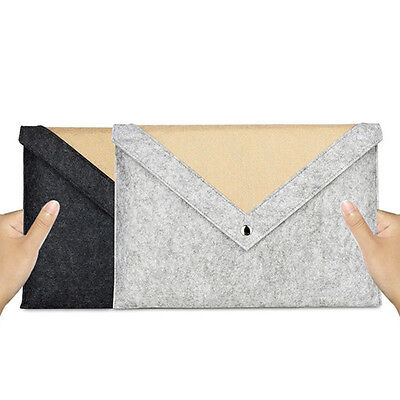 For 11 13 15inch Macbook Pro Air Notebook Felt Case Cover Laptop Sleeve Bag XP